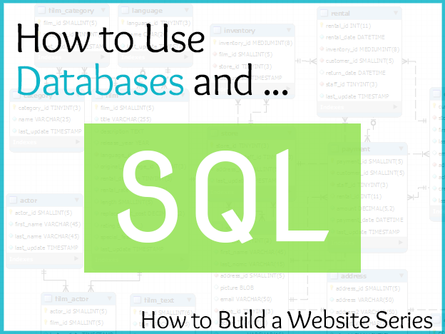 Databases & SQL:  Website Building Series course image