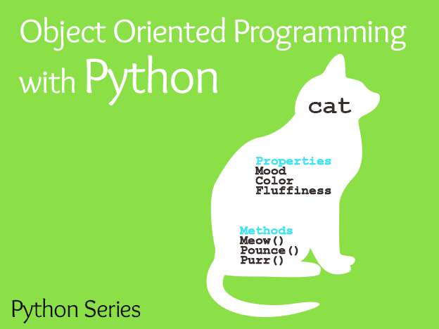 Object Oriented Programming in Python course image